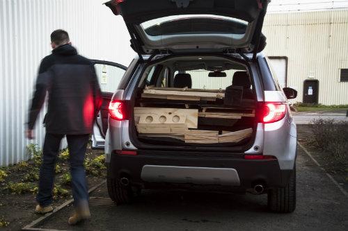 Land Rover thiết kế phòng di động cho Discovery Sport - 6