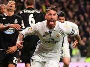 Báo thân Barca ấm ức, tố trọng tài thiên vị Real – Ramos
