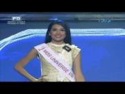 Lệ Hằng catwalk lấn át 10 mỹ nữ quốc tế thi Miss Universe