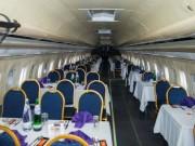 Nhà hàng có một không hai: Ăn tối trong máy bay Boeing