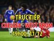 """TRỰC TIẾP bóng đá Chelsea - West Brom: Conte """"xem nhẹ"""" đối thủ"""