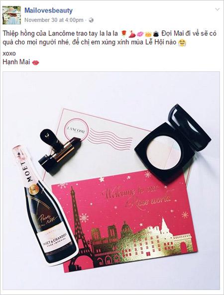 Chất lừ với những hình flatlay từ fashionista Việt từ show diễn của Lancôme - 4