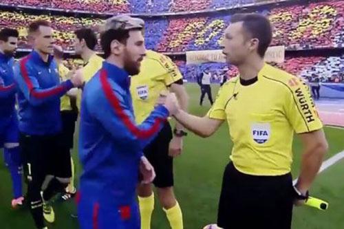 """Trừng phạt trọng tài """"thân"""" Barca trận Siêu kinh điển - 1"""
