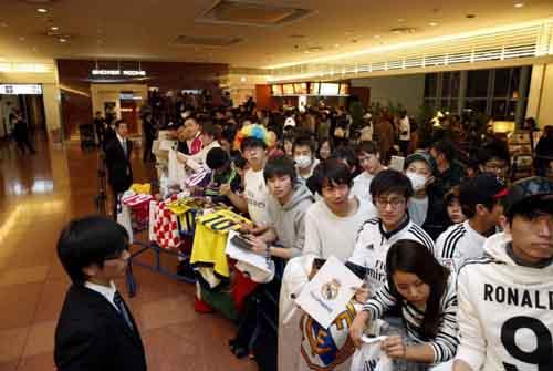 FIFA Club World Cup: Fan Nhật phát cuồng vì Real - Ronaldo - 2