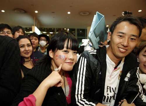 FIFA Club World Cup: Fan Nhật phát cuồng vì Real - Ronaldo - 4
