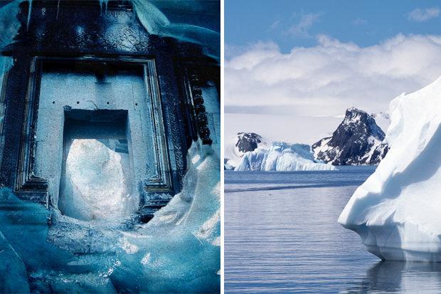 Nền văn minh bí ẩn chôn vùi dưới lớp băng dày Nam Cực? - 1