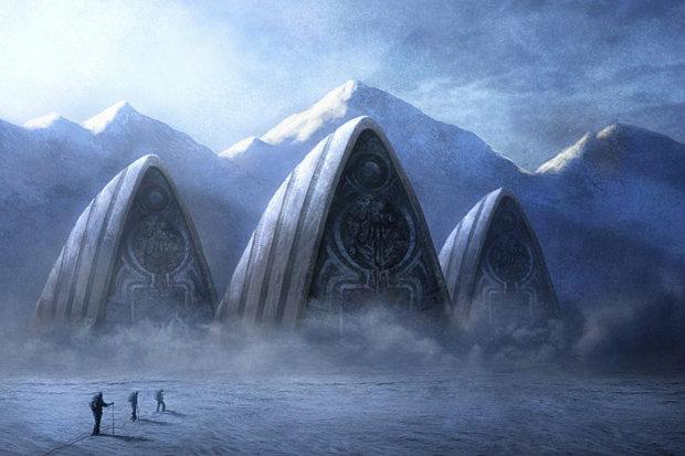 Nền văn minh bí ẩn chôn vùi dưới lớp băng dày Nam Cực? - 2