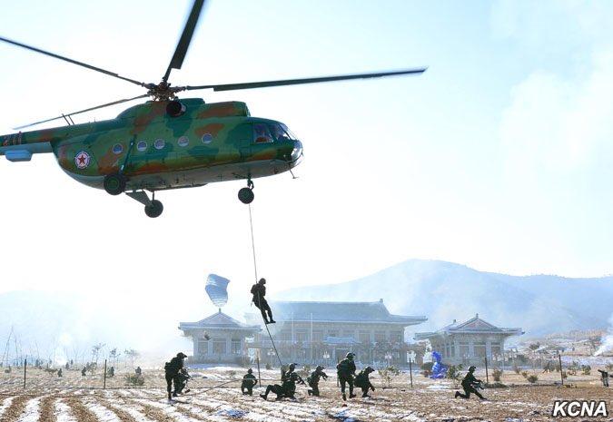 Kim Jong-un chỉ đạo đặc nhiệm tập chiếm thủ đô Hàn Quốc - 1