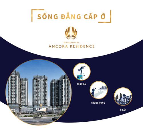 Sun Grand City Ancora Residence: Căn hộ tiêu chuẩn quốc tế bên Hồ Gươm - 1