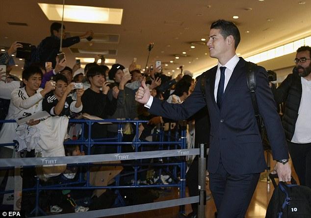 FIFA Club World Cup: Fan Nhật phát cuồng vì Real - Ronaldo - 11