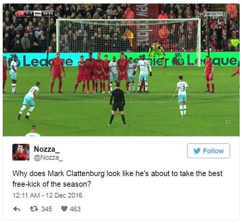 NHA: Trọng tài gây sốt với tư thế sút phạt như Ronaldo - 3