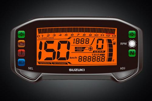 Cận cảnh Suzuki Raider R150 Fi và GZ 150-A Fi - 3
