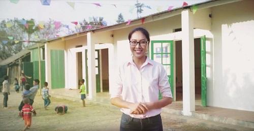 Diệu Ngọc mang tới Miss World dự án nhân ái ở vùng cao - 8