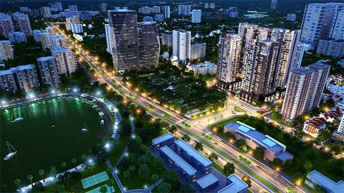 Sức hút Việt Đức Complex ngày ra mắt thị trường - 1