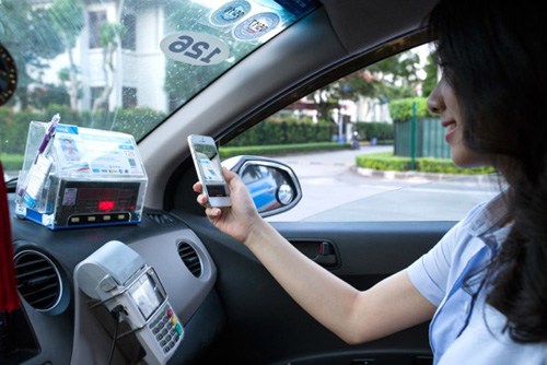 Taxi Ba Sao ứng dụng công nghệ thanh toán di động Moca - 2