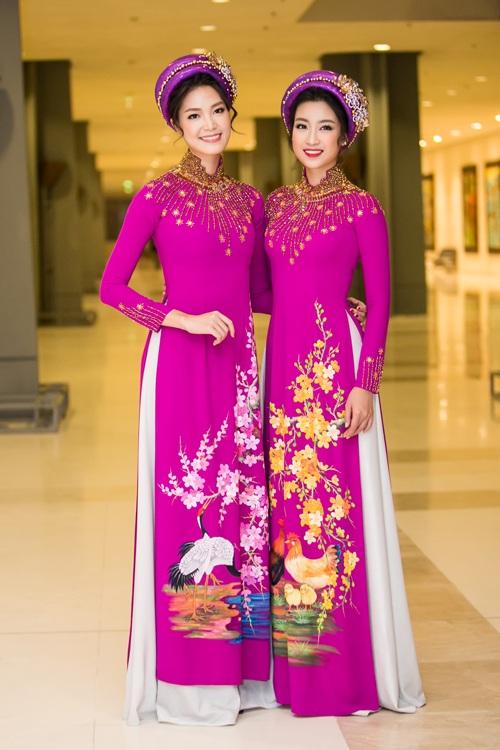 Huyền My e ấp với áo dài, đẹp lấn át cả dàn mỹ nhân Việt - 8