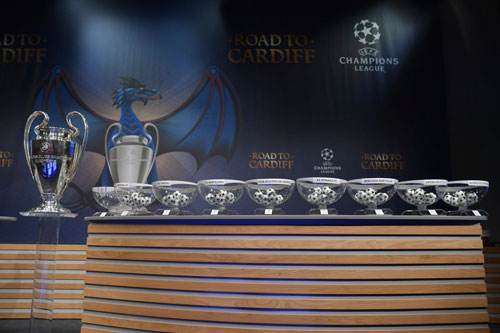 Bốc thăm vòng 1/8 cúp C1 - Champions League: Barca, Arsenal gặp khó - 4