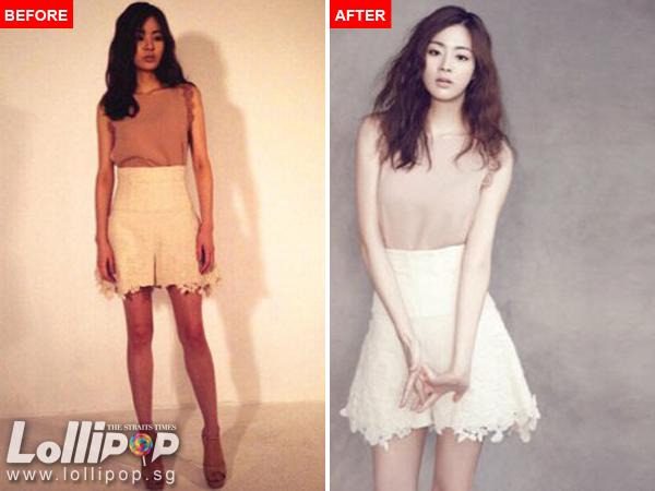 Tiết lộ nhan sắc chưa photoshop của mỹ nam, mỹ nữ Kpop - 4