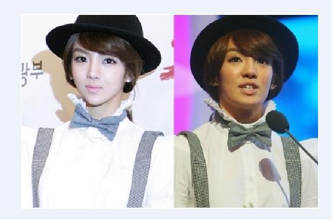 Tiết lộ nhan sắc chưa photoshop của mỹ nam, mỹ nữ Kpop - 11