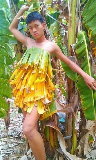 Hoảng hốt thời trang lá chuối, xoong nồi của teen boy Thái - 3