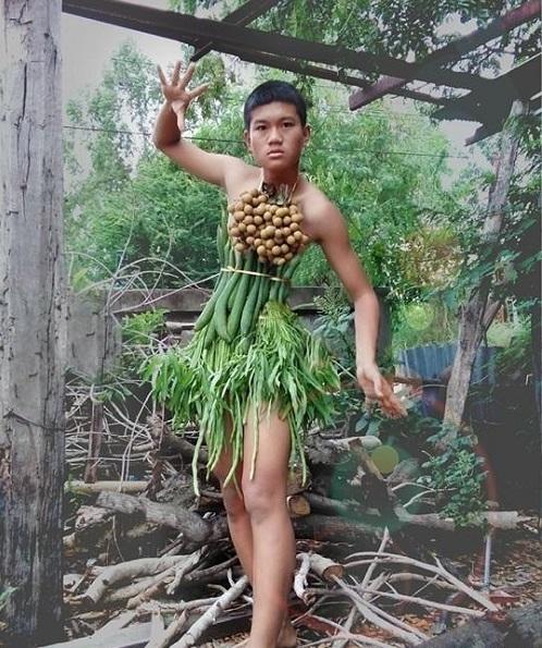Hoảng hốt thời trang lá chuối, xoong nồi của teen boy Thái - 6