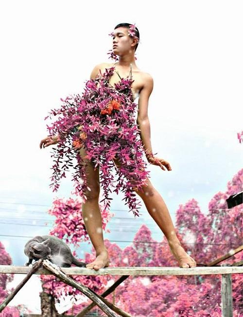 Hoảng hốt thời trang lá chuối, xoong nồi của teen boy Thái - 7