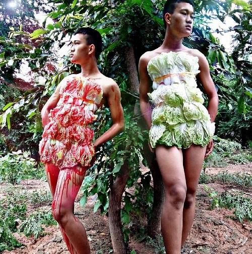 Hoảng hốt thời trang lá chuối, xoong nồi của teen boy Thái - 10