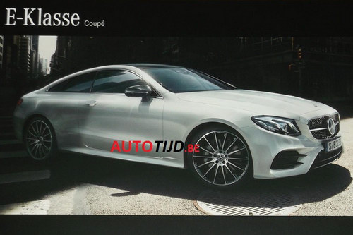 Mercedes-Benz E-Class Coupe 2018 lộ diện - 1
