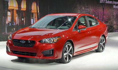 """Subaru Impreza đoạt giải """"Xe Nhật của năm"""" 2017 - 1"""
