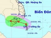 """Tin tức trong ngày - TP.HCM bất ngờ """"đón"""" áp thấp nhiệt đới giữa mùa khô"""