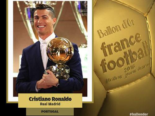 QBV Ronaldo: Siêu sao tỷ đô, cúp giành liên tiếp, chê anh gì nữa? - 1