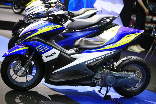 Yamaha Aerox 155 hay còn được biết đến với tên gọi Yamaha NVX 2017 tại thị trường Việt Nam.