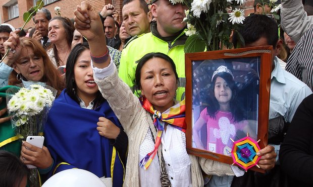 Colombia rúng động trước vụ hiếp, giết bé gái 7 tuổi - 1