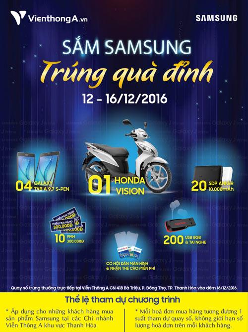 Thanh Hóa - Sắm Samsung - Trúng quà đỉnh tại Viễn Thông A - 1