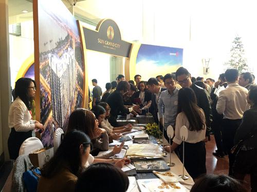 Dự án Sun Grand City Ancora Residence thu hút khách hàng ngày ra mắt - 1