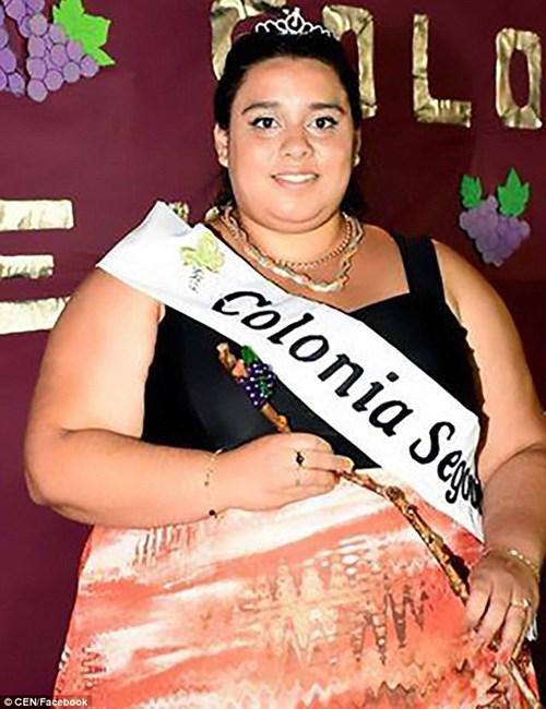 """Thiếu nữ nặng 122kg đoạt ngôi """"Nữ hoàng sắc đẹp"""" - 1"""