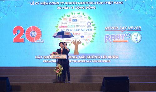 Rohto-Mentholatum (VN) tổ chức thành công lễ kỷ niệm 20 năm thành lập - 2