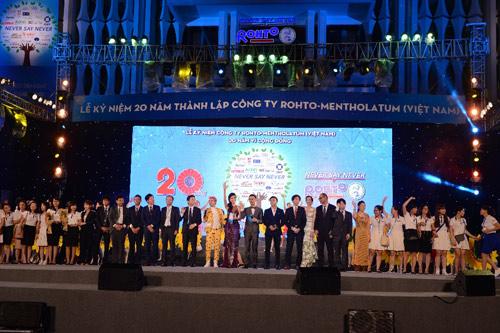 Rohto-Mentholatum (VN) tổ chức thành công lễ kỷ niệm 20 năm thành lập - 4