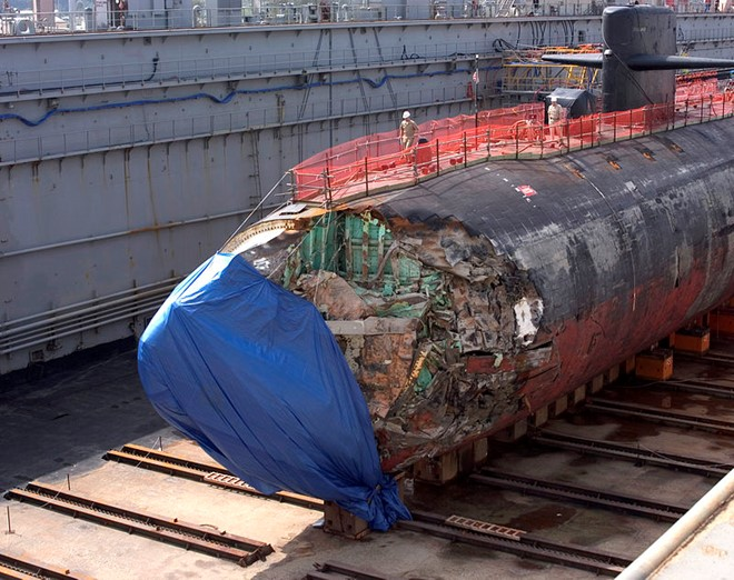 Đâm vào núi ngầm, tàu ngầm hạt nhân Mỹ thoát hiểm thần kỳ - 2