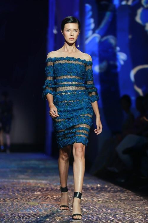Đặng Thu Thảo lấn át dàn mẫu Việt với váy áo nữ thần - 3