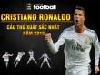 Giành QBV, Ronaldo = 2 Messi: Trên đỉnh cao danh vọng