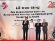 Chủ nhân 10 giải thưởng cho Kỹ sư và Nhà khoa học trẻ Việt Nam 2016