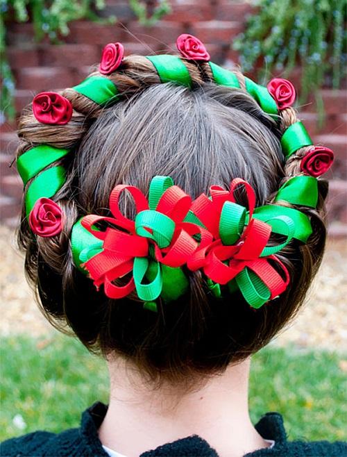 """Những kiểu tóc """"độc lạ"""" chào đón Giáng sinh - 1"""