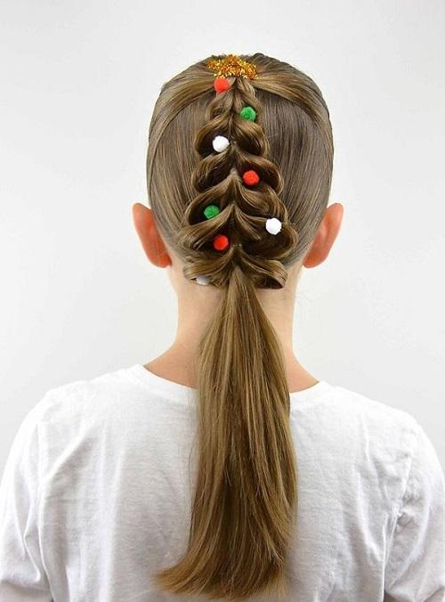 """Những kiểu tóc """"độc lạ"""" chào đón Giáng sinh - 2"""