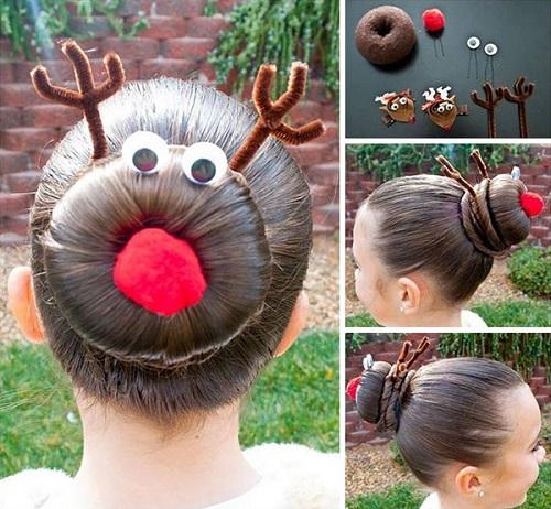 """Những kiểu tóc """"độc lạ"""" chào đón Giáng sinh - 3"""