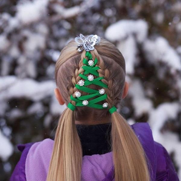 """Những kiểu tóc """"độc lạ"""" chào đón Giáng sinh - 4"""