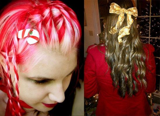 """Những kiểu tóc """"độc lạ"""" chào đón Giáng sinh - 8"""