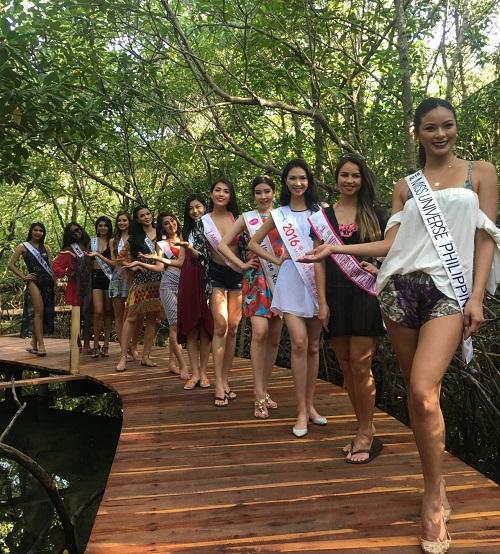 Lệ Hằng tự tin đọ sắc bikini bên đối thủ Miss Universe - 3