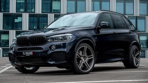 BMW X5 độ mâm Vossen 22 inch mạnh mẽ - 3