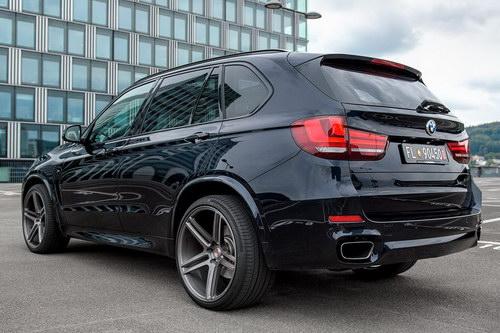 BMW X5 độ mâm Vossen 22 inch mạnh mẽ - 4